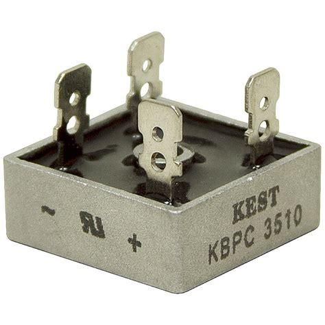 diode bridge connection 35 1000 volt kbpc3510 bridge rectifier bridge rectifiers transformers bridge