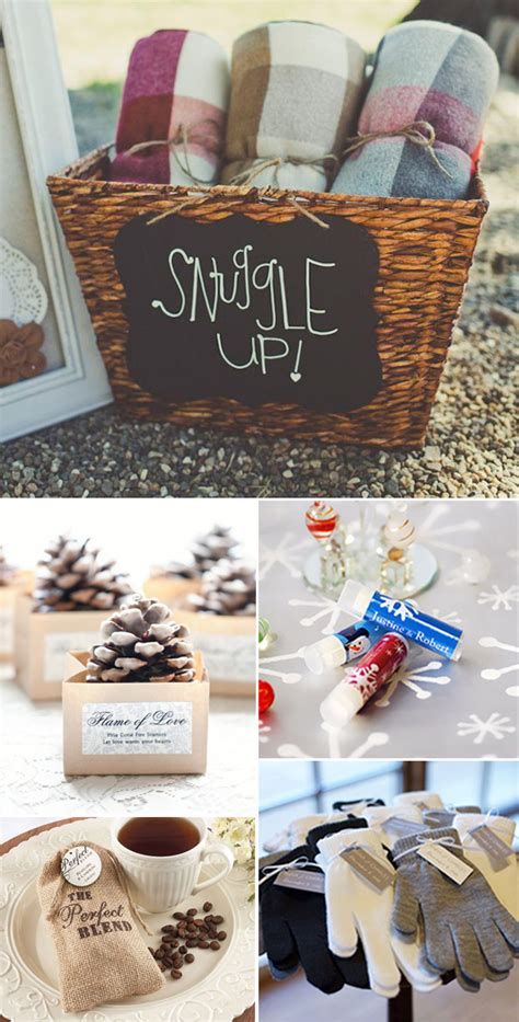 Wedding Favors For Winter Wedding by 60 Wonderful Ideas For A Cozy And Fancy Winter Wedding