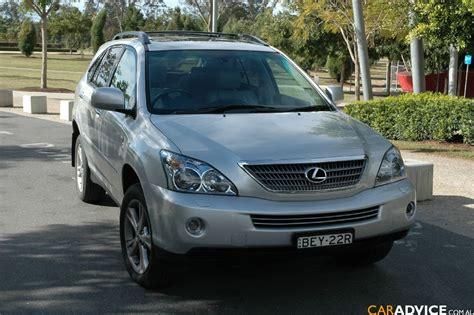 lexus car 2008 2008 lexus rx 400h review caradvice