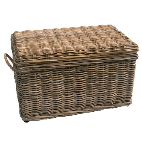 deck boxes amazing brown wicker trunk vintage wicker