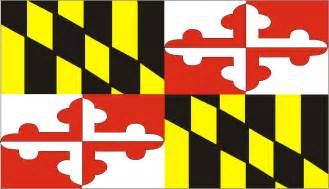 of maryland colors usa state flags printable state flags