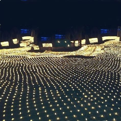 3m 2m 200 led net mesh fairy string light christmas