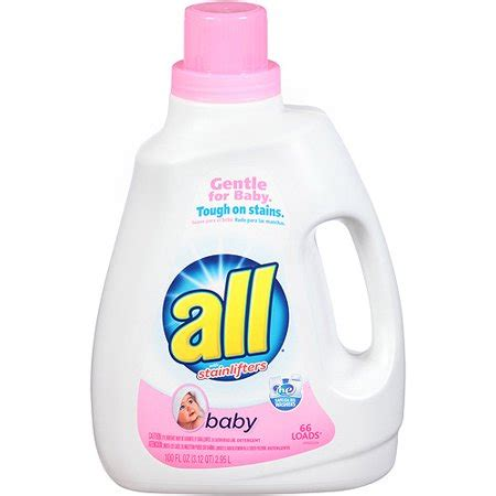 all about that baby play all baby 2x laundry detergent 100 fl oz walmart