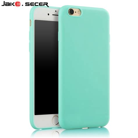 Casing Cover Slim Silicon Iphone 5 6 6 7 7 Soft Soft Silikon for apple iphone 5s cover silicone best protective slim cheap green soft coque fundas