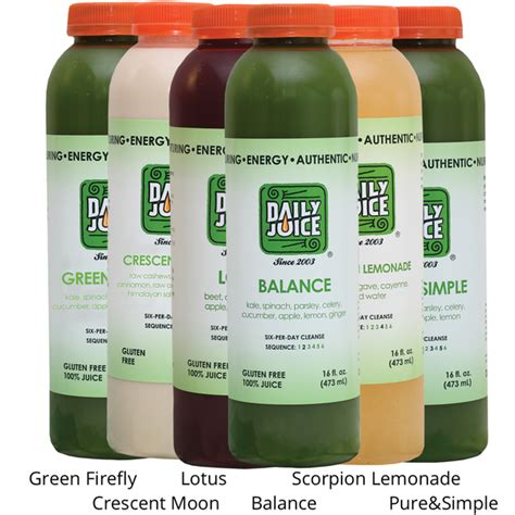 Two Day Juice Detox by 2 Day Cleanse Daily Juice Cafe