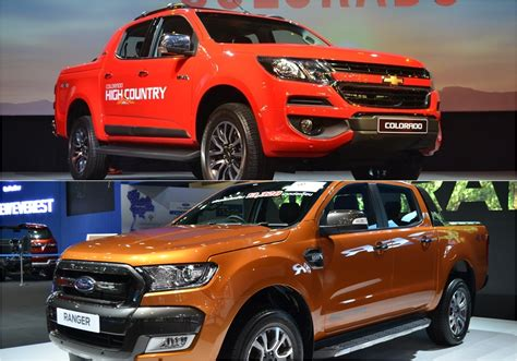 Compare Ford Ranger And Chevrolet Colorado   Autos Post