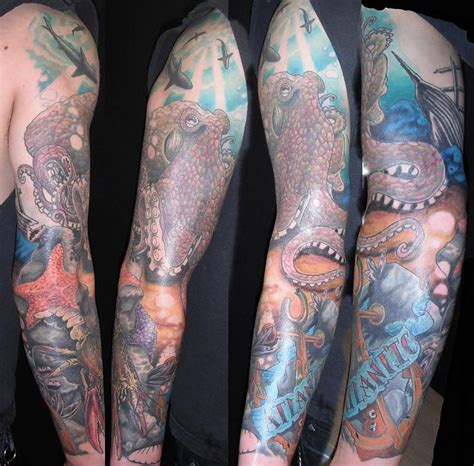 nautical tattoo sleeve nautical sleeve tattoos search s