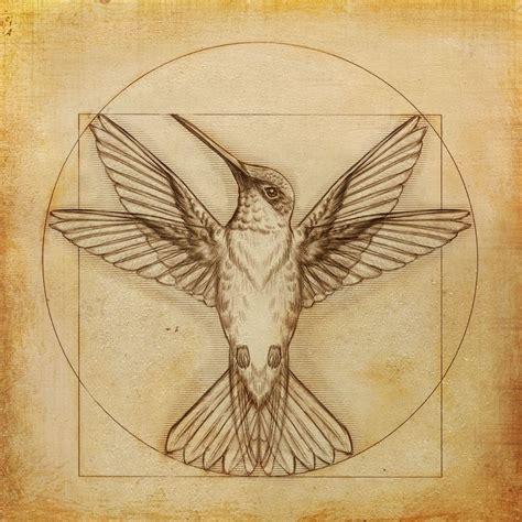 leonardo da vinci tattoo designs leonardo da vinci hummingbird drawing contest