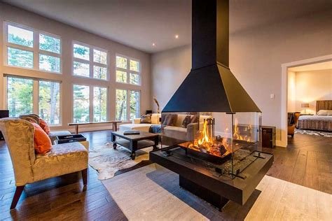 home design idea center modern homes center fireplace custom cedar homes house plans