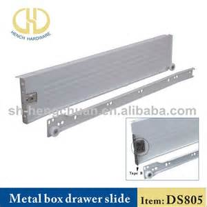 kitchen cabinet metal box drawer slide parts view metal