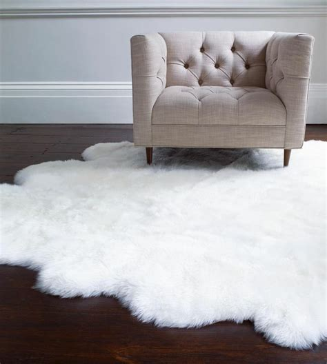Sheepskin Area Rug Ugg Sheepskin Area Rug Single 2x3 S Grey
