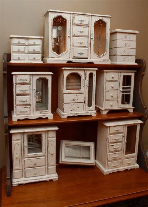 shabby chic jewelry cabinet shabby chic upcycled distressed jewelry armoire armoires