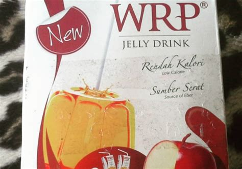 Wrp Kemasan Siap Minum Wrp Jelly Drink With Apple Extract Fiber Yukcoba In