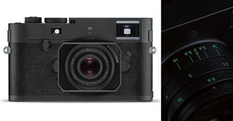 Leica M Monochrome leica m monochrom stealth edition is matte black and