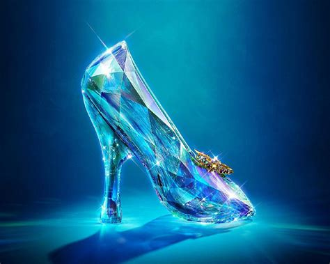 slippers wallpaper cinderella glass slippers 2015 hd wallpapers disney