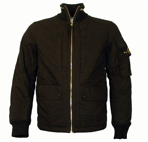 bomber jacket island black padded bomber jacket jackets from designerwear2u uk