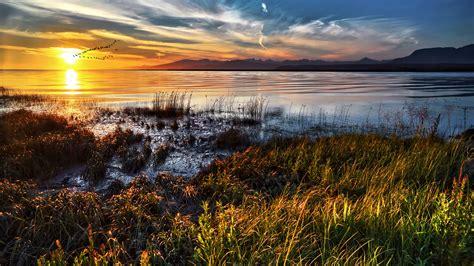 Vibrant Landscape Pictures Vibrant Lake Landscape Wallpaper Hd Wallpapers