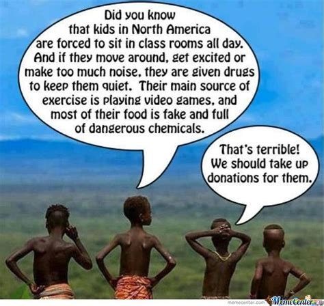 Poor African Kid Meme - 10 internet memes that are poking fun at african stereotypes afromum