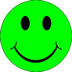 happy green color happy green face clip art at clker com vector clip art