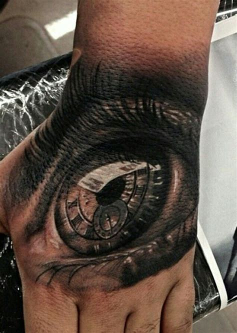 tattoo eye in hand 48 best tattoos eyes micro finger images on pinterest