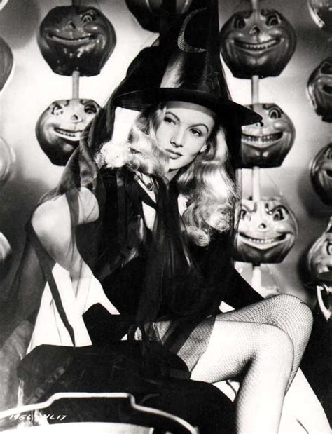 classic hollywood witches veronica lake i married a witch halloween pinterest