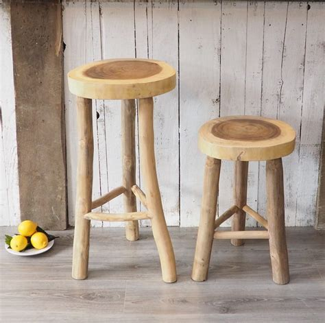 rustic kitchen stools uk rustic wood kitchen stool zaza homes