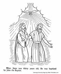 john the baptist coloring pages john the baptist coloring pages the baptism of jesus