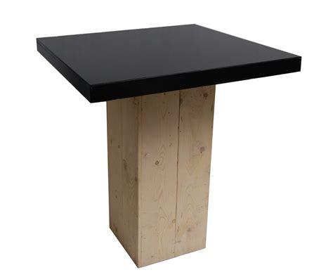 tafels en stoelen huren maastricht verhuur statafel steigerhout zwart te huur zuid limburg