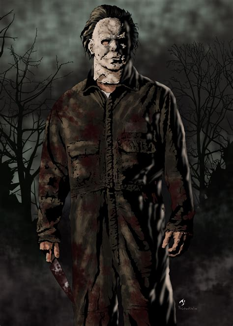 michael myers colors by jayodjick on deviantart