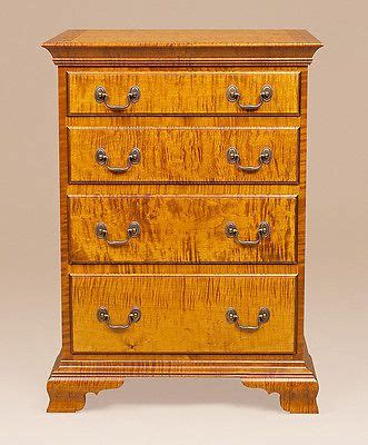 maple wood bedroom furniture bedroom set bed 3 chest of drawers highboy tiger