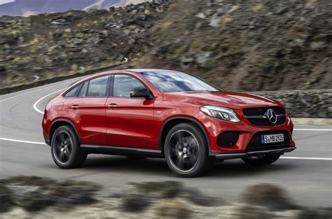 mercedes gle amg mercedes gle coupe revealed debuts amg sport 450