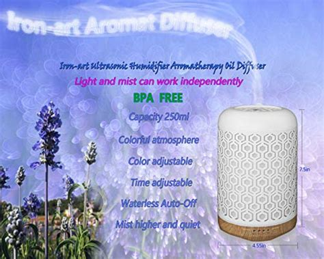 ansin essential oil diffuserml iron art ultrasonic