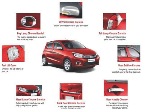 maruti accessories price list car visor accessories 2017 2018 best cars reviews