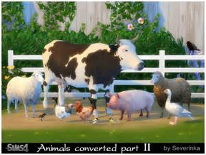 April Joy Home Decor And Furniture sims by severinka animals converted part ii sims 4