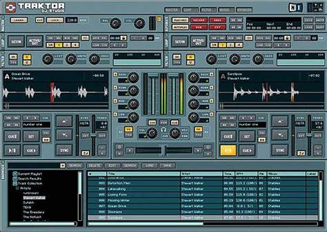 traktor pro dj software free download full version traktor dj studio for mac 3 4 1 screenshots