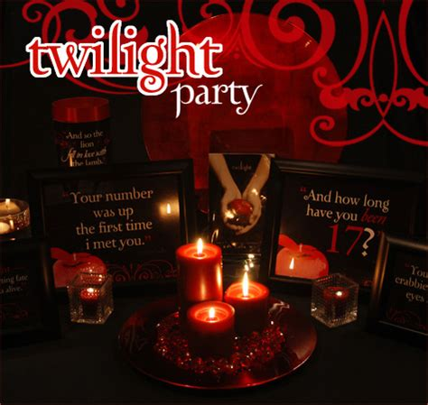 themes twilight book true blood party vire themed gala the bombshell