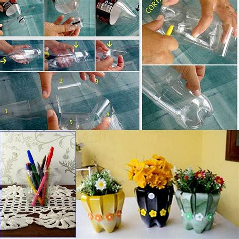 plastic bottle craft projects 7 useful and creative stuff made by reusing plastic