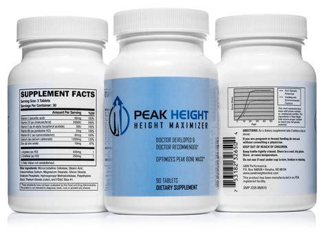 Vitamin Height Up galleon 1 grow taller height pill supplement peak height 6 month supply height supplement