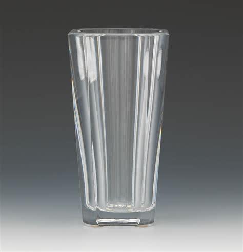 Baccarat Vases by A Baccarat Quot Diane Quot Vase 10 30 14 Sold 201 25