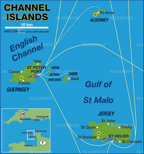 map uk and channel islands map of channel islands region in crown dependency welt