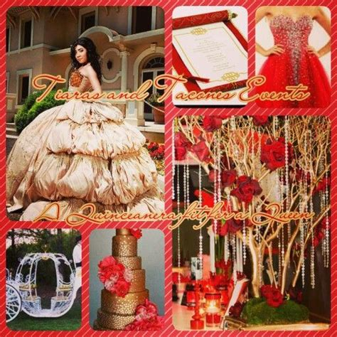 gold quinceanera themes 17 best images about tiaras and tacones events theme
