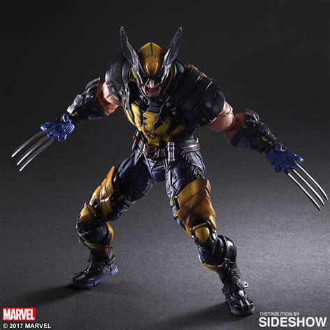 figure wolverine marvel wolverine collectible figure by square enix