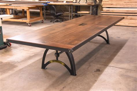 Industrial Boardroom Table Industrialux Conference Table Vintage Industrial Furniture