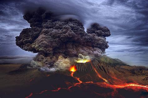 landscape volcano eruption  photo  pixabay