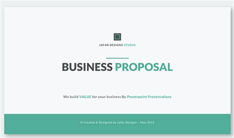 proposal format in ppt 60 best powerpoint templates of 2016