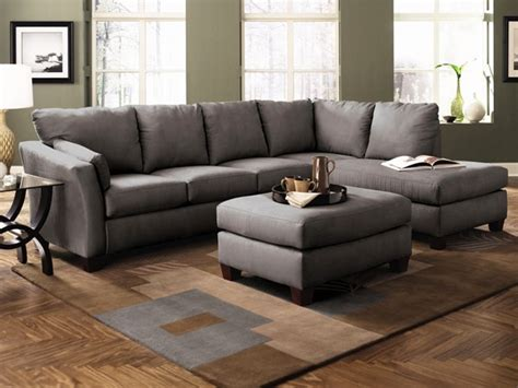 drew sectional sofa klaussner furniture drew sectional sofa in charcoal