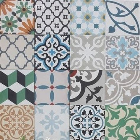 Moroccan Tiles Kitchen Backsplash cement tile pattern cement tile shop blog