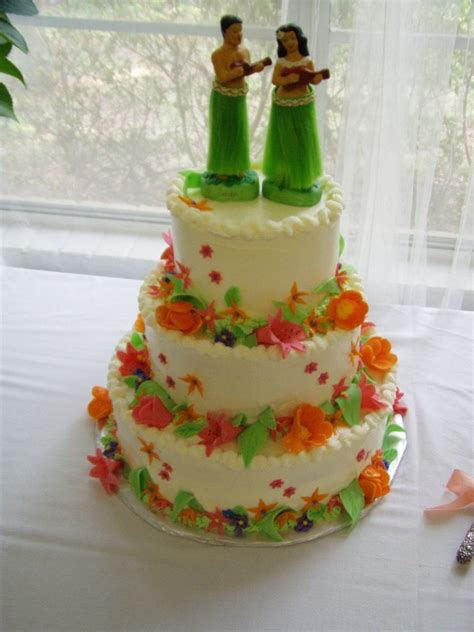 luau wedding cakes hawaiian wedding cakes simple ideas with result