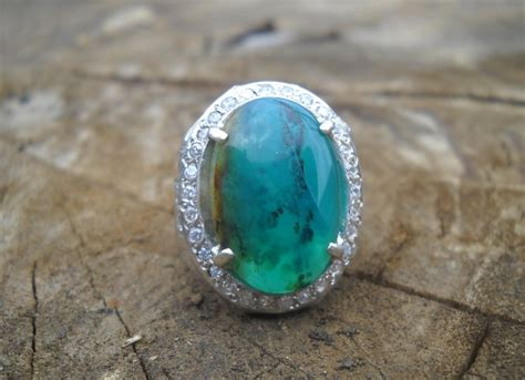 Batu Langsol Hijau koleksi batu antik ag140 batu garut hijau warna toska sold