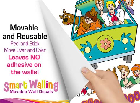 scooby doo wall stickers scooby doo wall stickers scooby doo sticker wall decal
